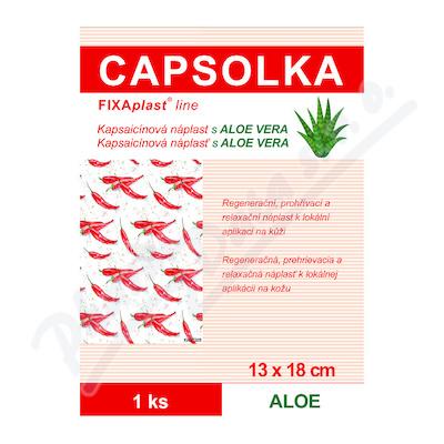 CAPSOLKA Kapsaicínová hřej.nápl. ALOE 13x18cm 1ks