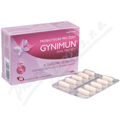 GYNIMUN dual protect cps. 30