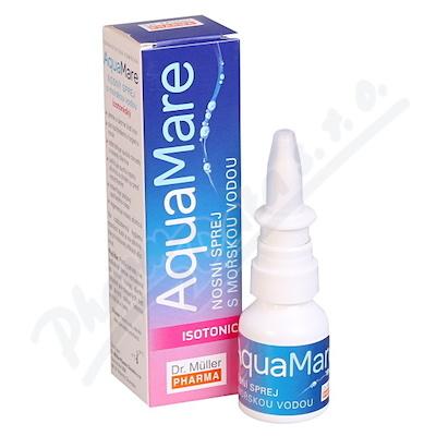 AquaMare nosní sprej isotonický 20ml Dr.Müller