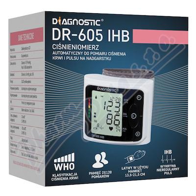 DIAGNOSTIC automat.zápěstní tlakoměr DR-605 IHB