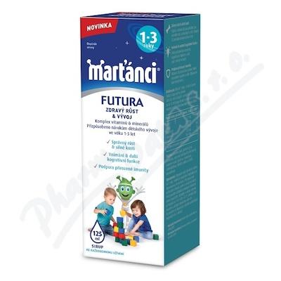 Walmark Marťánci Futura sirup 1+ 125ml