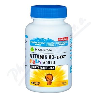 Swiss NatureVia Vitamin D3-Efekt Kids tbl. 60