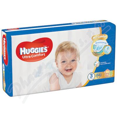 HUGGIES Ultra Comfort Jumbo vel. 3 5-8kg 56ks