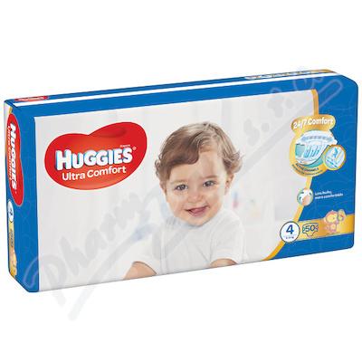 HUGGIES Ultra Comfort Jumbo vel. 4 8-14kg 50ks