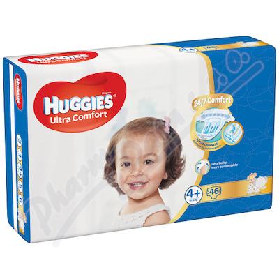 HUGGIES Ultra Comfort Jumbo vel. 4+ 10-16kg 46ks