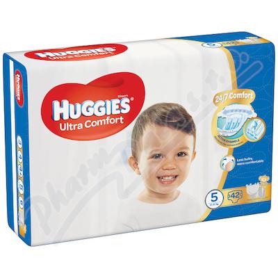 HUGGIES Ultra Comfort Jumbo vel. 5 12-22kg 42ks