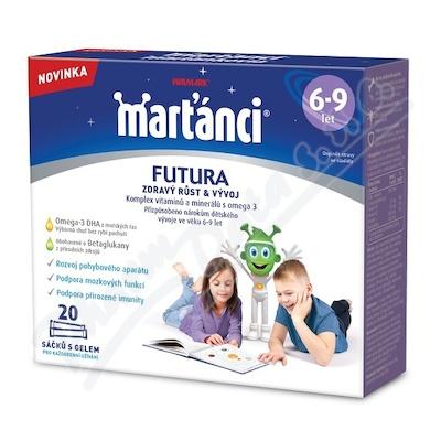Walmark Marťánci Futura 6-9 gel 20sáčků