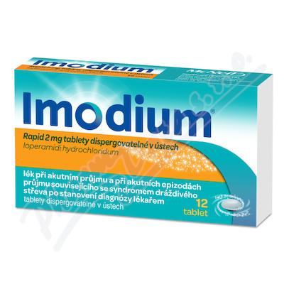Imodium Rapid 2mg por. tbl. dis. 12