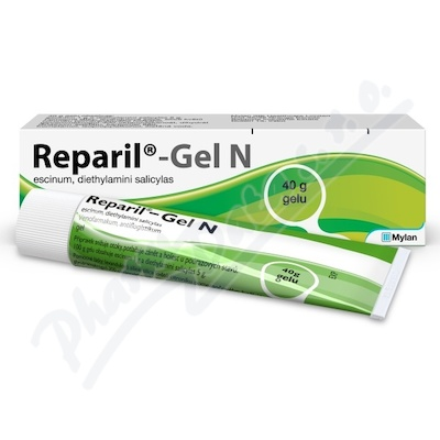 Reparil-Gel N 10mg-g+50mg-g gel 40g I