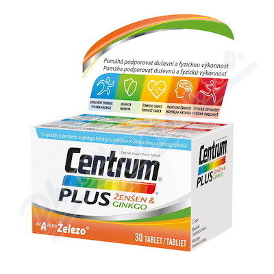 Centrum Plus Ženšen&Ginkgo tbl. 30