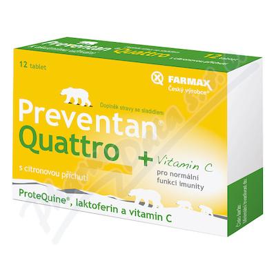 Preventan Quattro citron. přích. tbl. 12