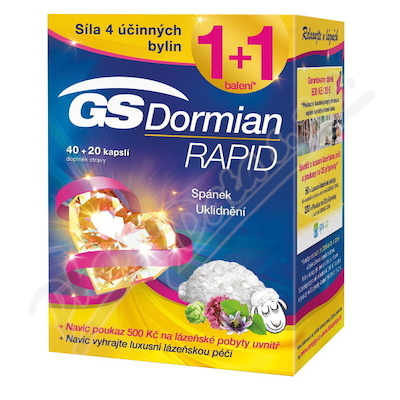GS Dormian Rapid cps.40+20 dárek 2018