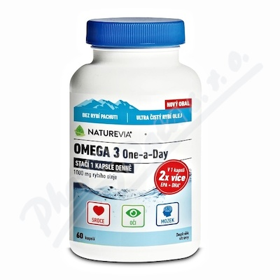 Swiss NatureVia Omega 3 One a Day cps. 60