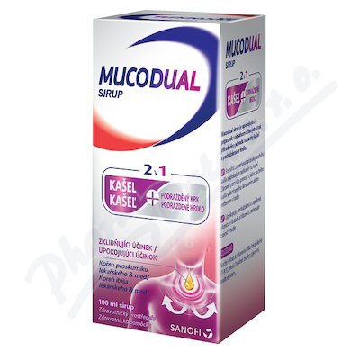 Mucodual 2.5g-100ml sirup 100ml