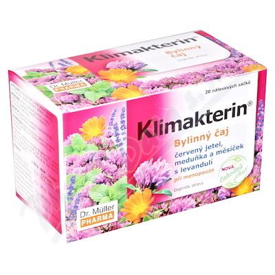 Klimakterin bylinný čaj při menopauze 20x1. 5g