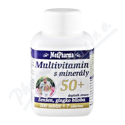 MedPharma Multivitamin s minerály 50+ tbl. 107