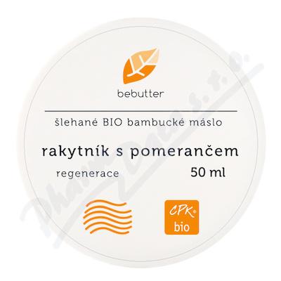 Bebutter Šlehané BIO bamb. máslo rakyt. pomer. 50ml