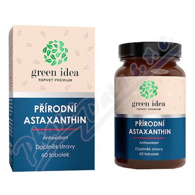 TOPVET Astaxanthin přírodní antioxidant tob. 60