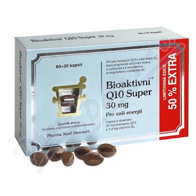 Bioaktivní Q10 Super 30mg cps.60+50% EXTRA