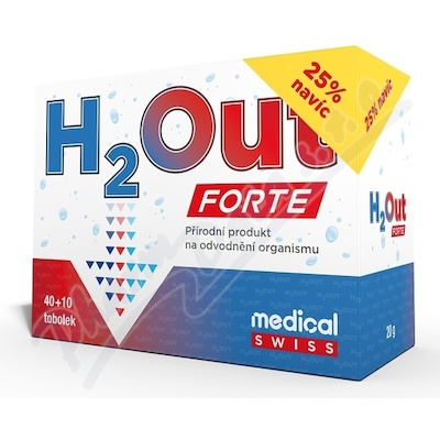 H2Out FORTE tob. 40+10 medical Swiss