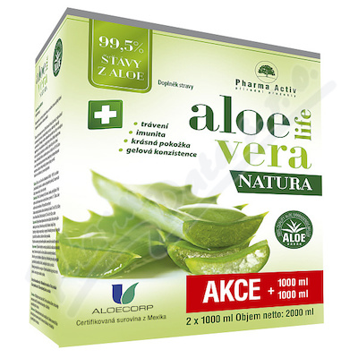 AloeVeraLife NATURA 1000ml+1000ml