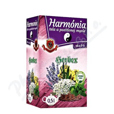 HERBEX Harmonie těla a pozitivní mysli n. s. 20x3g