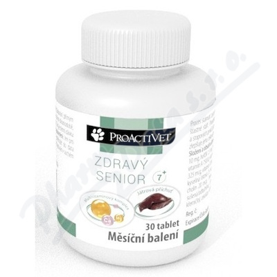 Proactivet Zdravý senior 7+ Multivitamin tbl.30