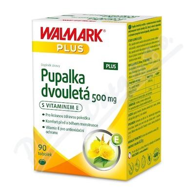 Walmark Pupalka 500mg s vit. E PLUS tob. 90