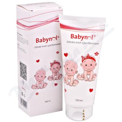 Babynol Dětská mast s panthenolem 100ml Fagron