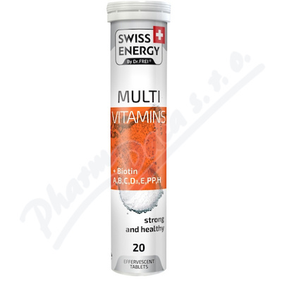 Swiss Energy Multivitamin+biotin eff. tbl. 20