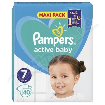 PAMPERS Active Baby VPP 7 XXL 40ks