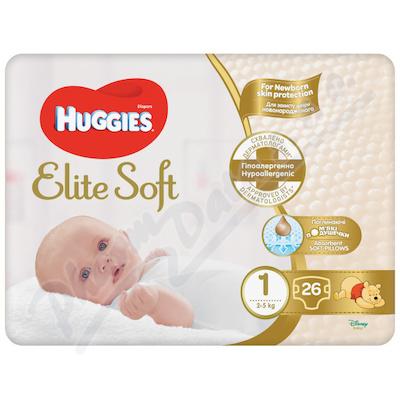 HUGGIES Elite Soft 1 3-5kg 26ks