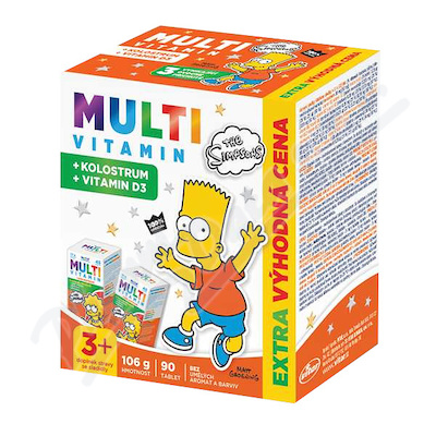 The Simpsons Multivitamin + kolostrum tbl. 90