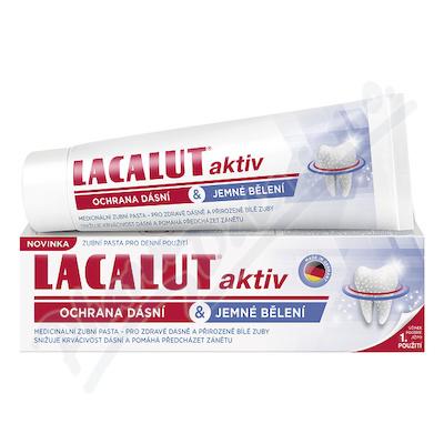 Lacalut Aktiv zub.pasta ochr.dásní & j.bělení 75ml