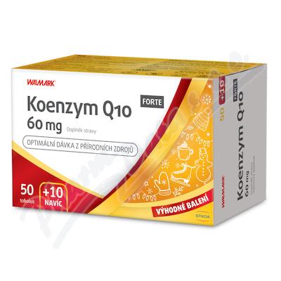 Walmark Koenzym Q10 FORTE 60mg tob. 50+10 Promo2020
