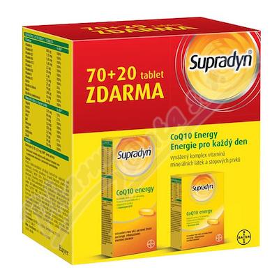 Supradyn CO Q10 Energy tbl.70+20