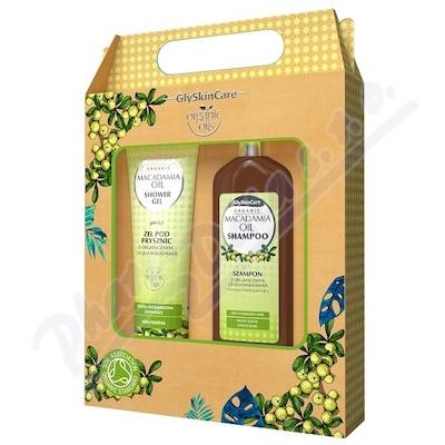 Biotter sada šampon+sprch.gel makadam.olej 2x250ml