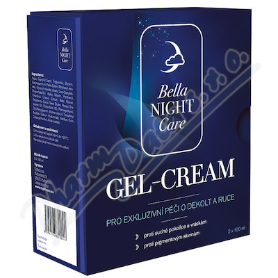 Bella NIGHT Care Gel-Cream na DEKOLT +RUCE 2x100ml