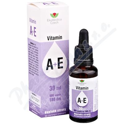 Vitamín A+E 30ml EKOMEDICA