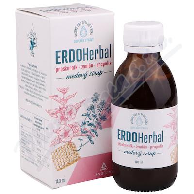 ERDOHerbal medový sirup 140ml