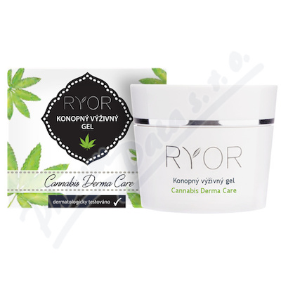 RYOR Cannabis Konopný výživný gel 50ml