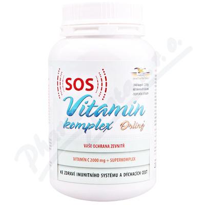 SOS Vitamín komplex Orling cps. 360