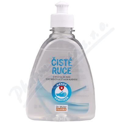 Čisté ruce čisticí dezinfekční gel 300ml Dr. Müller