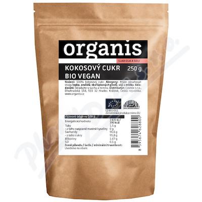 Organis Kokosový cukr BIO 250g