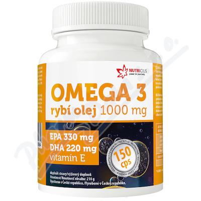 Omega 3 Rybí olej 1000mg EPA330mg-DHA220mg cps. 150