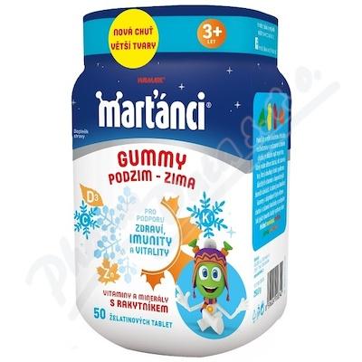 Walmark Marťánci Gummy PODZIM-ZIMA tbl. 50