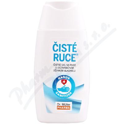 Čisté ruce čisticí dezinfekční gel 50ml Dr. Müller