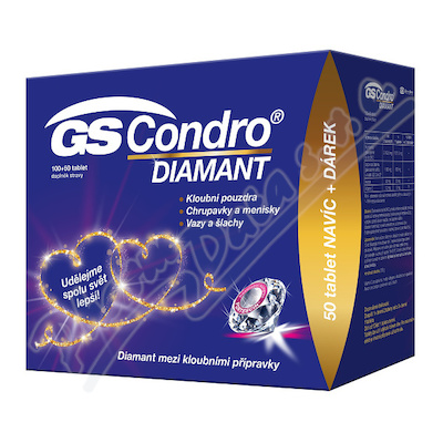 GS Condro DIAMANT tbl. 100+50 dárek 2020 ČR-SK