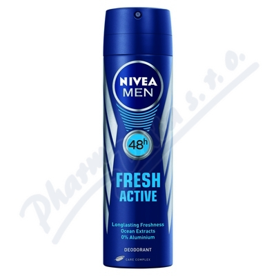 NIVEA Deo muži FRESH ACTIVE sprej 150ml č.81600