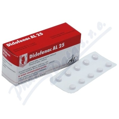 Diclofenac AL 25 tbl.obd.50x25mg